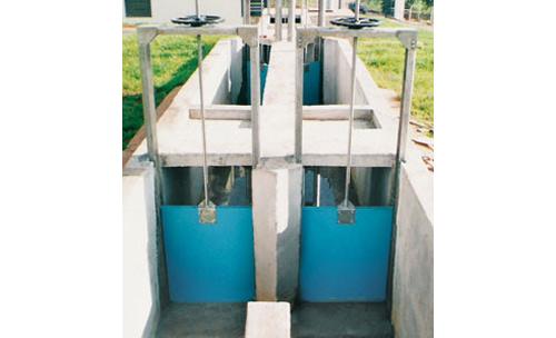 Peças para estações de tratamento de água