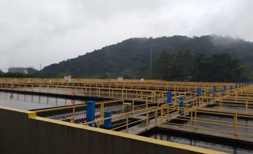 Peças para estações de tratamentos de água e esgoto