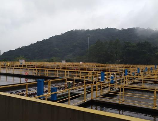 Peças para estações de tratamento de água (ETA) e esgoto (ETE)