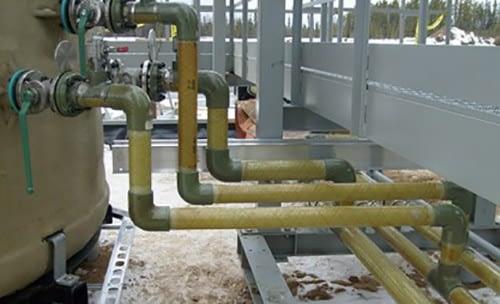 Tubos e Conexões em Fibra de Vidro